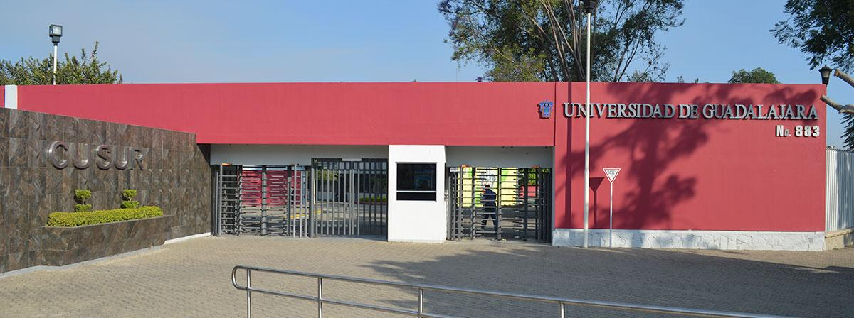 Main entrance to the Centro Universitario del Sur