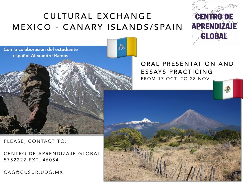 Cultural Exchange Mexico - Canary Islands, Spain